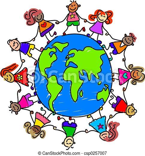 世界, 孩子 - csp0257007