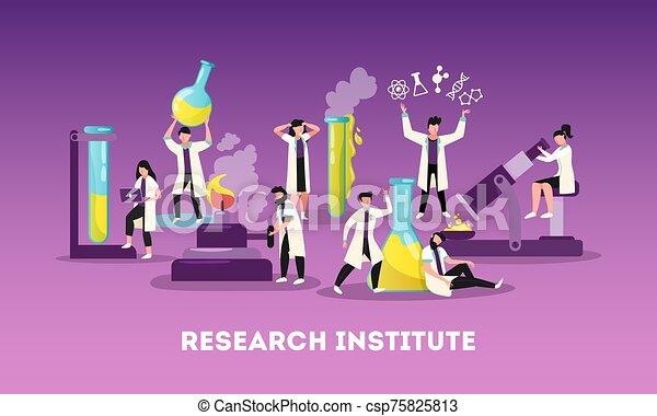 作品, 研究, 科學, 套間 - csp75825813