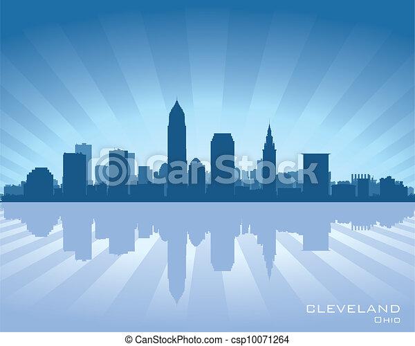 俄亥俄, 地平線, 克利夫蘭 - csp10071264