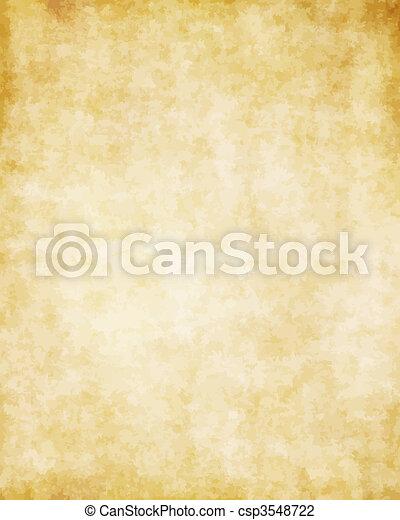 偉大, 老, 結構, 紙, 背景, 羊皮紙 - csp3548722