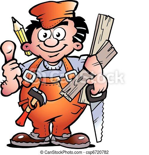 做零活的人, 木匠 - csp6720782