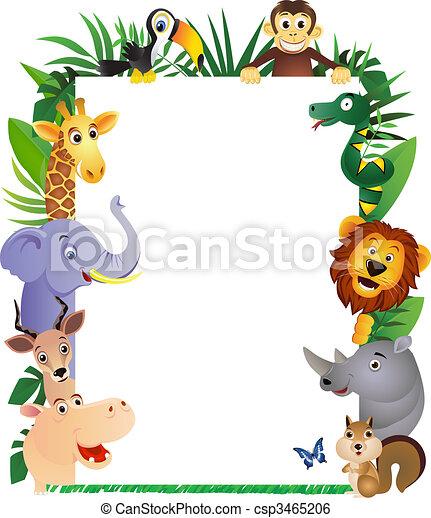 卡通, 動物 - csp3465206