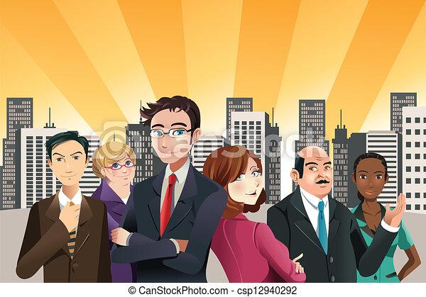 商業界人士 - csp12940292