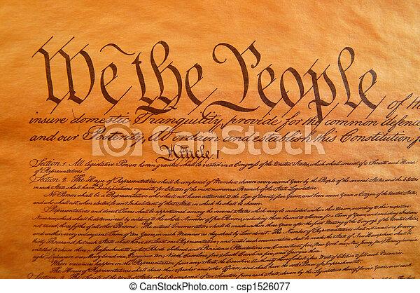 國家, 團結, 憲法 - csp1526077