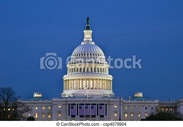 國家, 建築物, 團結, 州議會大廈 - csp4079904