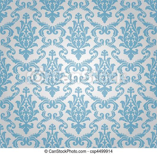 圖案, seamless, (vector), 緞子 - csp4499914