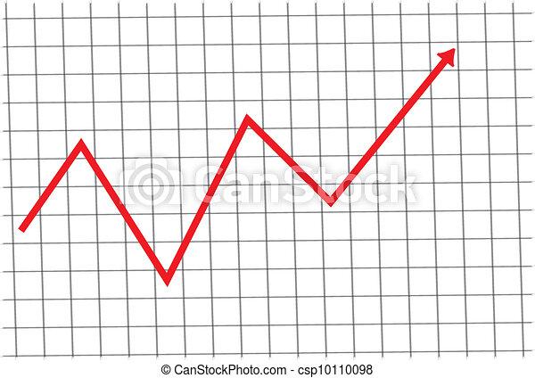 圖表, 股票 - csp10110098