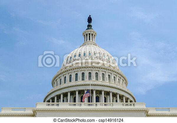 團結, 州議會大廈, 華盛頓特區, 國家, 建築物 - csp14916124