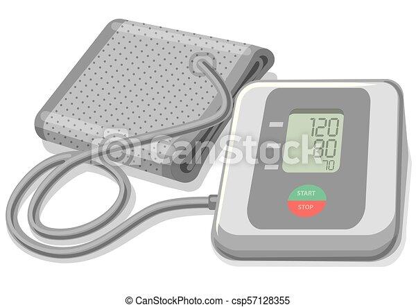 壓力, 監控, 血液 - csp57128355