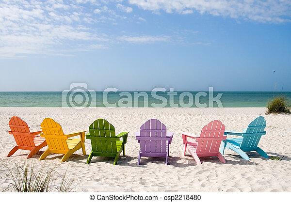 夏天, 海灘假期 - csp2218480