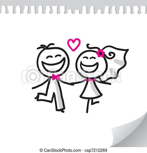 夫婦, 婚禮 - csp7212269