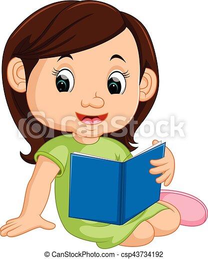 女孩讀物, 書 - csp43734192