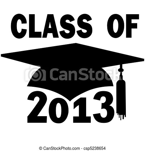學校, 帽子, 畢業, 高, 學院, 類別, 2013 - csp5238654