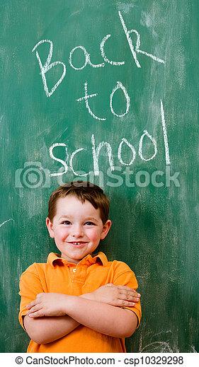 學校, 概念, 教育, 背 - csp10329298