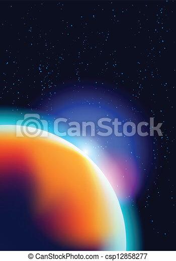 宇宙, 背景 - csp12858277