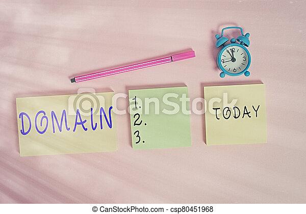 寫, notepads, 特殊, 區域, 鐘, 統治者, 背景。, 或者, 記號, multicolor, domain., 正文, 詞, 警報, 概念, 三, 空白, 事務, 政府, 地域, 控制, 上色 - csp80451968