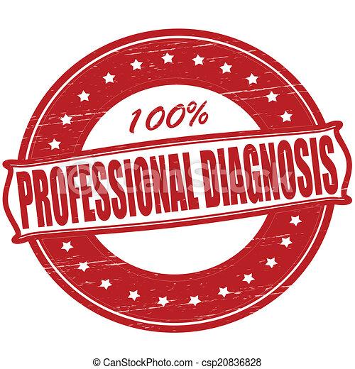 專業人員, 診斷 - csp20836828