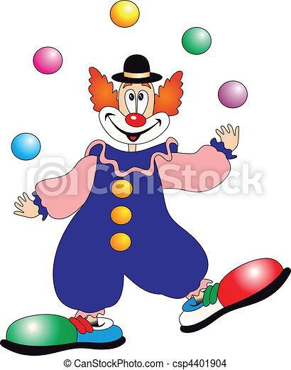 小丑, 矢量 - csp4401904