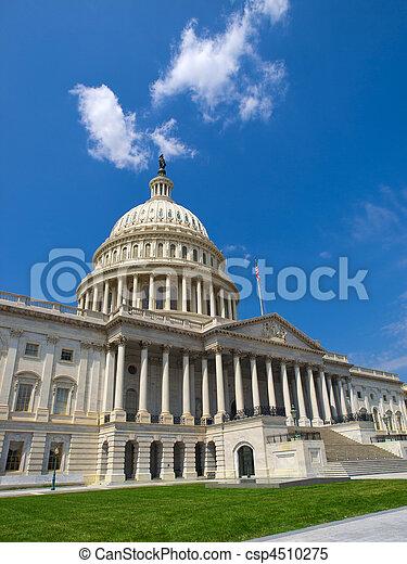 州議會大廈, 華盛頓特區, 我們 - csp4510275