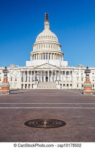 州議會大廈, 華盛頓特區, 我們 - csp10178502