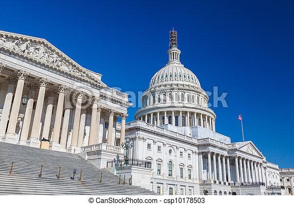 州議會大廈, 華盛頓特區, 我們 - csp10178503