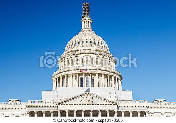 州議會大廈, 華盛頓特區, 我們 - csp10178505