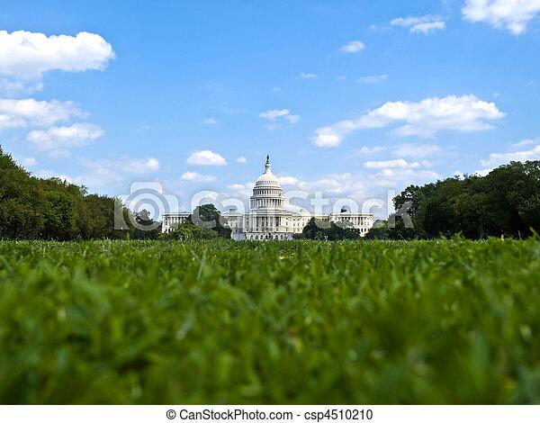 州議會大廈, 華盛頓特區, 我們 - csp4510210
