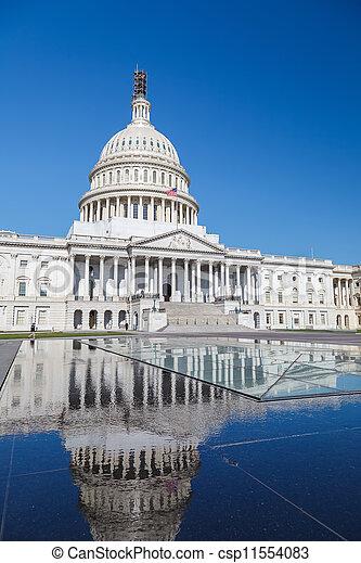 州議會大廈, 華盛頓特區, 我們 - csp11554083