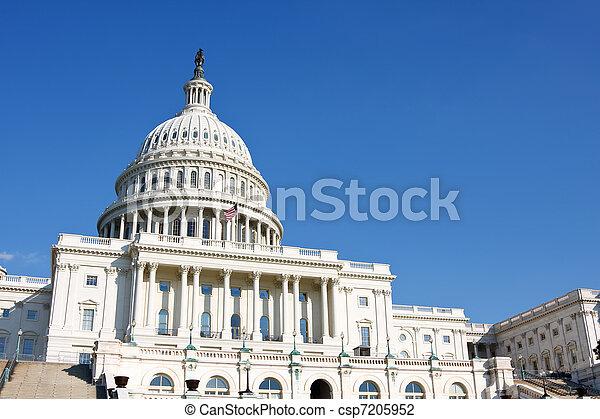 州議會大廈, 華盛頓特區, 我們 - csp7205952