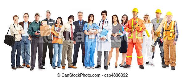 工人, 人們 - csp4836332