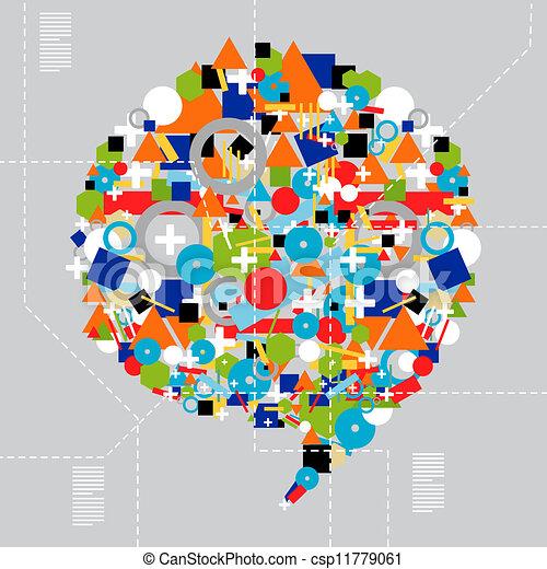 差异, 媒介, 技術, 社會 - csp11779061