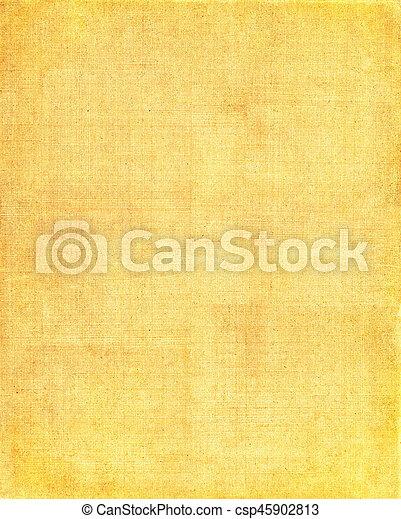 布, 黃色的背景 - csp45902813