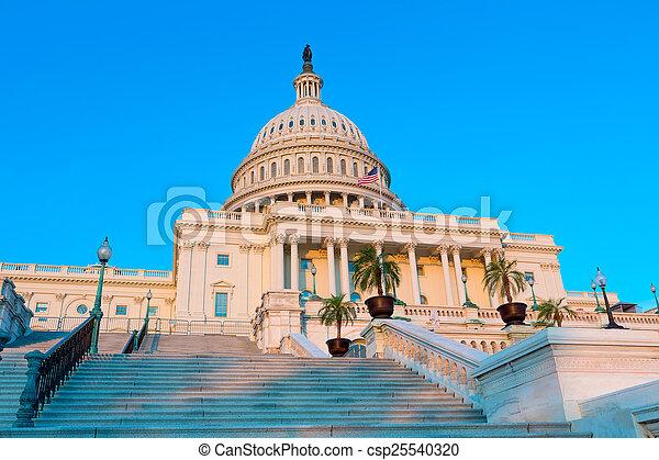 建築物, 州議會大廈, 國會, 華盛頓特區, 我們 - csp25540320