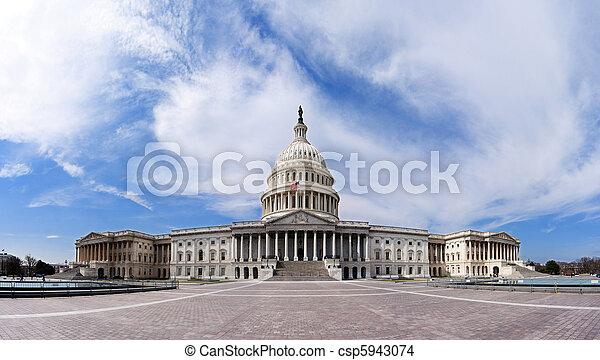建築物, -, 州議會大廈, 美國政府 - csp5943074