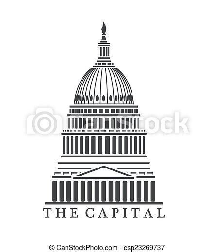 建築物, 州議會大廈 - csp23269737