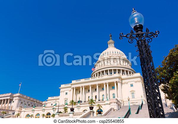 建築物, 美國, 州議會大廈, 國會, 華盛頓特區 - csp25540855