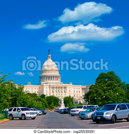 建築物, 華盛頓 國會大廈, 美國, dc - csp25539391