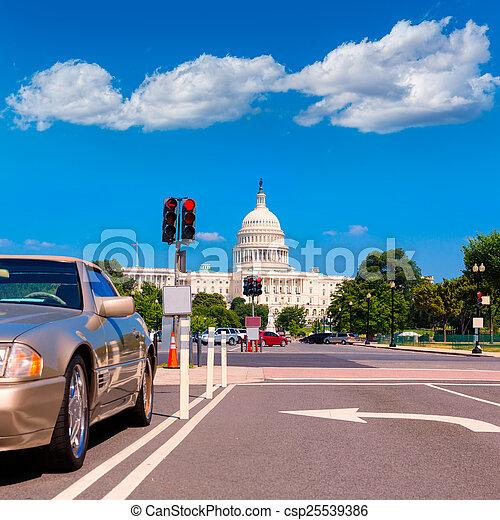 建築物, 華盛頓 國會大廈, 美國, dc - csp25539386