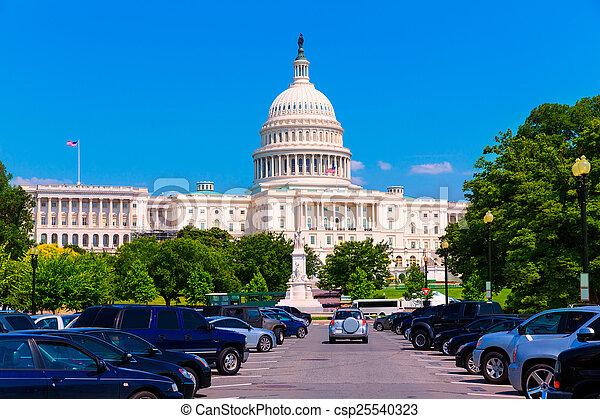 建築物, 華盛頓 國會大廈, 美國, dc - csp25540323