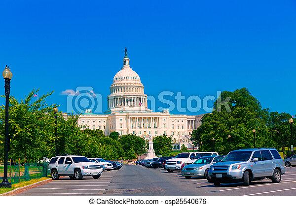 建築物, 華盛頓 國會大廈, 美國, dc - csp25540676