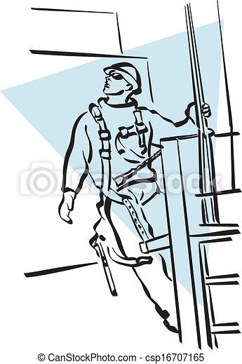 建設工人 - csp16707165