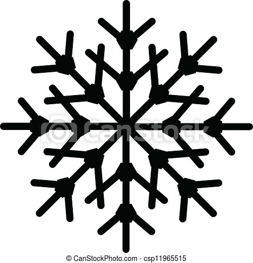 形狀, 雪花 - csp11965515