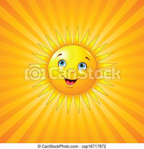 微笑太陽 - csp16717872