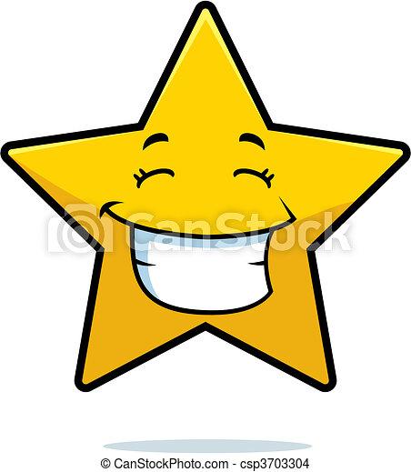 微笑, 星 - csp3703304