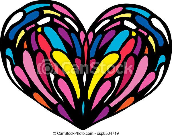 心, illustration. - csp8504719