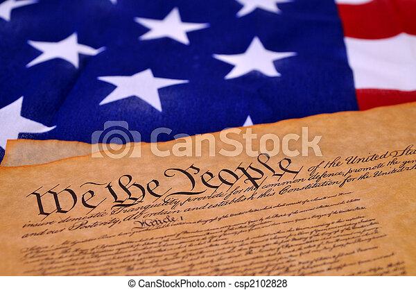 憲法, 我們 - csp2102828