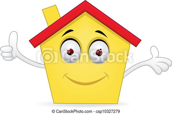房子, 卡通 - csp10327279