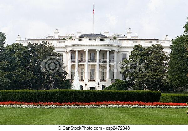 房子, 白色 - csp2472348