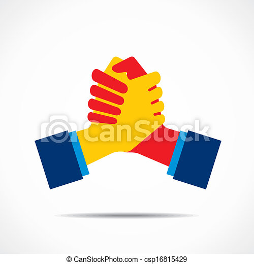 握手, 圖象 - csp16815429