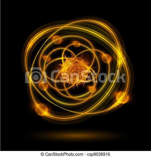 摘要, 原子 - csp9036916